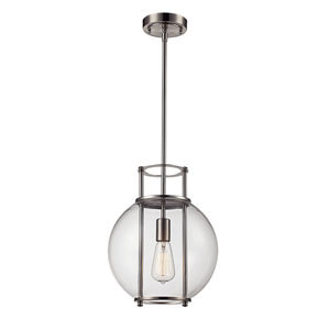 Grove Brushed Nickel One-Light Pendant