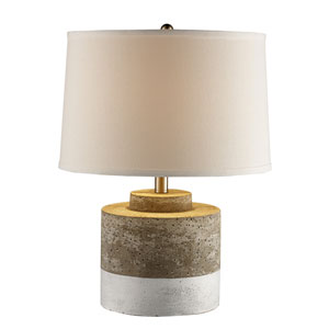 Hammon Aged Ceramic One-Light Table Lamp