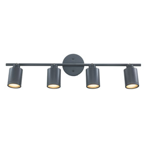 Holdrege Oil Rubbed Bronze Four-Light LED Track Light