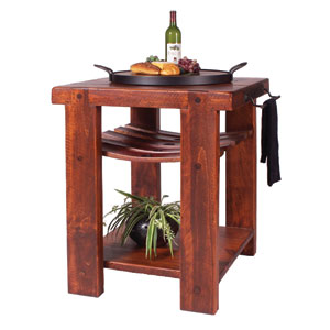 Cross Creek Pine Kitchen Island