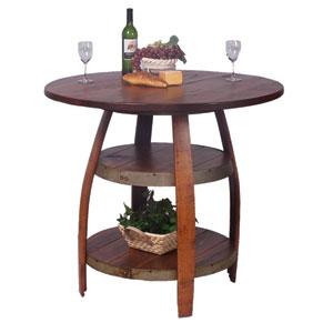 Barrique Pine Bistro Table