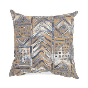 Liora Manne Visions III Multicolor Bambara Indoor/Outdoor Pillow