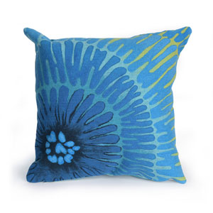 Visions III Caribe 20-Inch Cirque Outdoor Pillow