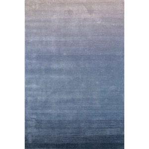 Arca Aqua Rectangular 42 In. x 66 In. Ombre Indoor Rug