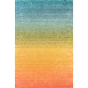 Arca Rainbow Rectangular 7 Ft. 6 In. x 9 Ft. 6 In. Ombre Indoor Rug