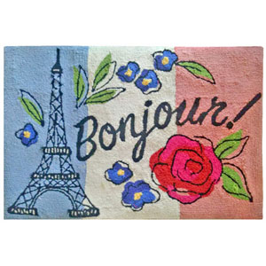 Frontporch Natural Rectangular 30 In. x 48 In. Bonjour Outdoor Rug