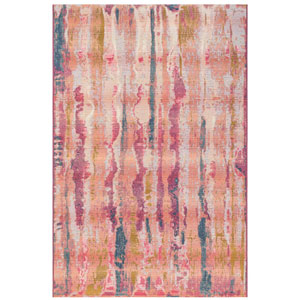 Marina Multi Rectangular 4 Ft. 10 In. x 7 Ft. 6 In. Reflection Outdoor Rug