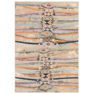Liora Manne Marina Multicolor 4 Ft. 10 In. x 7 Ft. 6 In. Aztec Indoor/Outdoor Rug