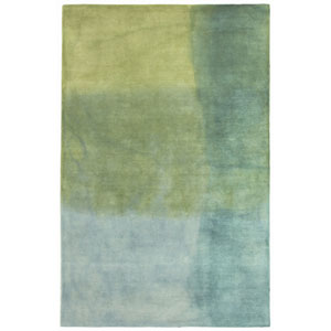 Piazza Sea Breeze Rectangular 5 Ft. x 7 Ft. 6 In. Watercolors Indoor Rug