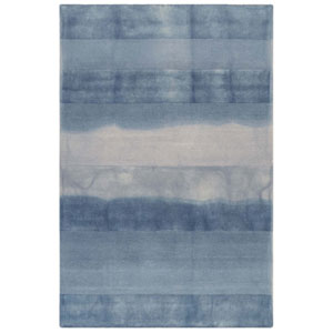 Piazza Sea Breeze Rectangular 5 Ft. x 7 Ft. 6 In. Textured Stripe Indoor Rug