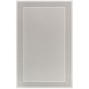Plymouth Sisal Rectangular 4 Ft. 10 In. x 7 Ft. 6 In. Border Outdoor Rug