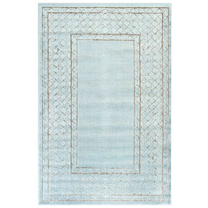 Rialto Sisal Rectangular 4 Ft. 10 In. x 7 Ft. 6 In. Border Outdoor Rug