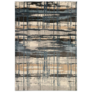 Liora Manne Soho Multicolor 7 Ft. 10 In. x 9 Ft. 10 In. Contempo Indoor Rug