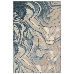 Liora Manne Soho Blue 8 Ft. 10 In. x 11 Ft. 9 In. Agate Indoor Rug
