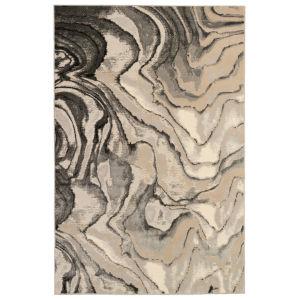 Liora Manne Soho Black 8 Ft. 10 In. x 11 Ft. 9 In. Agate Indoor Rug