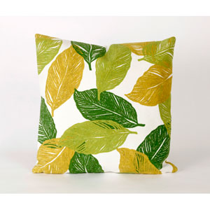 Mystic Leaf Green Pillow
