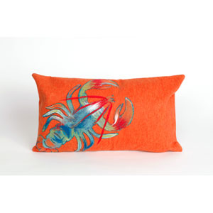 Lobster Orange Pillow
