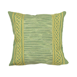 Liora Manne Visions II Sage Square 20 In. Indoor/Outdoor Pillow