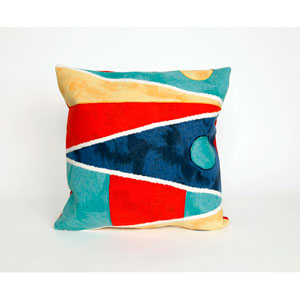 Flags Multi-Colored Pillow