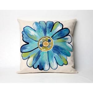 Daisy Aqua Pillow