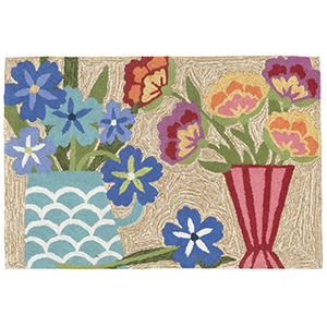 Liora Manne Frontporch Multicolor Rectangular: 2 Ft. x 3 Ft. Indoor/Outdoor Rug