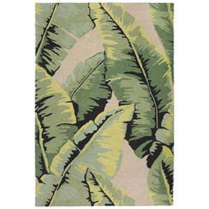 Liora Manne Lulunita Green Rectangular: 2 Ft. x 3 Ft. Rug