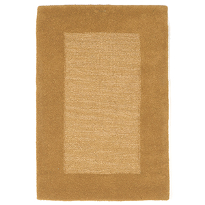 Liora Manne Madrid Gold Rectangular: 2 Ft. x 3 Ft. Rug