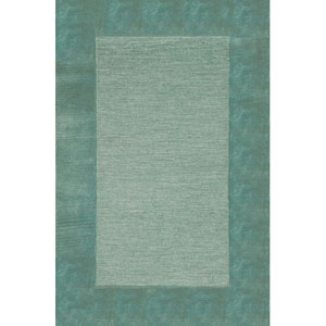 Madrid Border Blue Rectangular 5 Ft. x 8 Ft. Rug