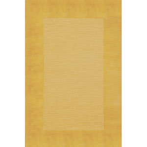 Madrid Border Gold Rectangular 5 Ft. x 8 Ft. Rug