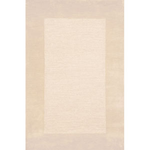 Madrid Border Neutral Rectangular 5 Ft. x 8 Ft. Rug