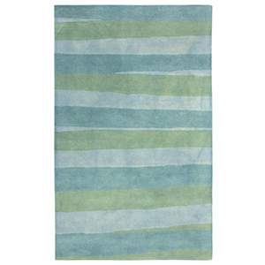 Liora Manne Piazza Blue Rectangular: 3 Ft. 6 In. In. x 5 Ft. 6 In. Rug