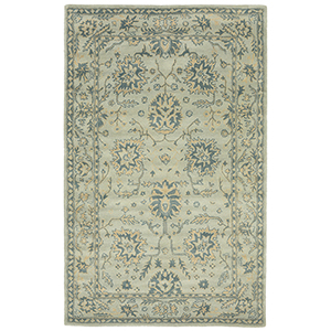 Liora Manne Petra Blue Rectangular: 3 Ft. 6 In. In. x 5 Ft. 6 In. Rug