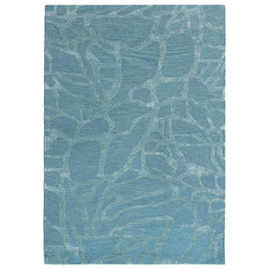Liora Manne Roma Blue Rectangular: 3 Ft. 6 In. In. x 5 Ft. 6 In. Rug