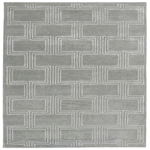 Liora Manne Roma Grey Rectangular: 3 Ft. 6 In. In. x 5 Ft. 6 In. Rug