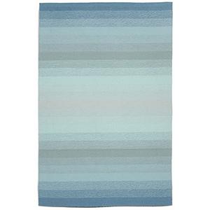 Liora Manne Ravella Blue Rectangular: 8 Ft. 3 In. x 11 Ft. 6 In. Indoor/Outdoor Rug