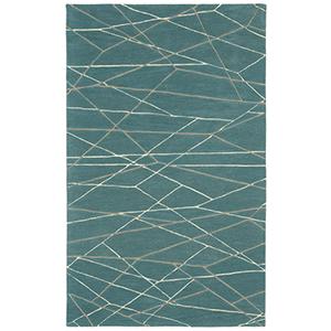 Liora Manne Seville Blue Rectangular: 3 Ft. 6 In. In. x 5 Ft. 6 In. Rug