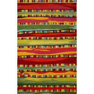 Seville Mosaic Stripe Fiesta Rectangular 5 Ft. x 8 Ft. Rug