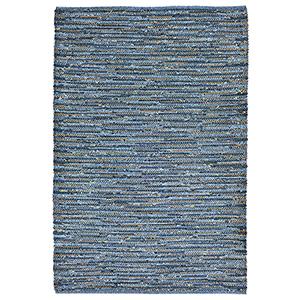 Liora Manne Sahara Blue Rectangular: 3 Ft. 6 In. In. x 5 Ft. 6 In. Indoor/Outdoor Rug