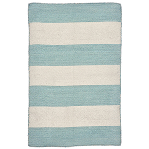 Liora Manne Sorrento Blue Rectangular: 2 Ft. x 3 Ft. Indoor/Outdoor Rug