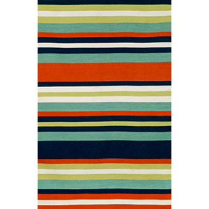 Sorrento Tribeca Navy Rectangular: 5 Ft. x 7 Ft. 6 In. Indoor/Outdoor Rug