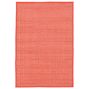 Liora Manne Terrace Orange Rectangular: 2 Ft. x 3 Ft. Indoor/Outdoor Rug