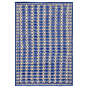 Liora Manne Terrace Blue Rectangular: 2 Ft. x 3 Ft. Indoor/Outdoor Rug