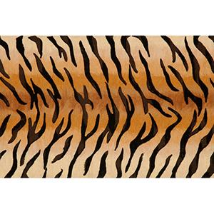 Visions III Tiger Brown Rectangular: 1 Ft. 8 In. x 2 Ft. 6 In. Indoor/Outdoor Rug