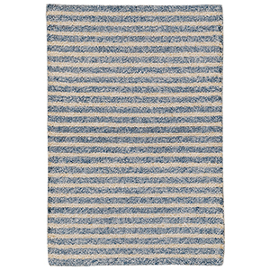 Liora Manne Wooster Blue Rectangular: 2 Ft. x 3 Ft. Indoor/Outdoor Rug