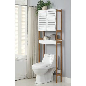 over the toilet tables, over the toilet storage, over the toilet furniture, over the toilet bars, over the toilet shower, on uploads