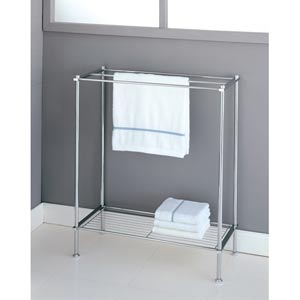 Metro Chrome Towel Rack