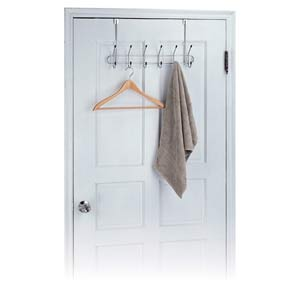 Neu Home Over-the-Door Organizing Hooks, Set of Six