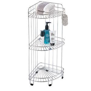 Bath Three-Tier Corner Shower Caddy