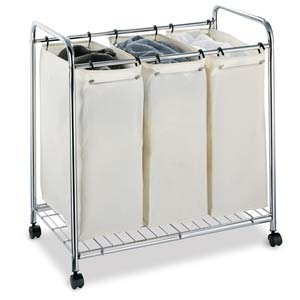 Three Section Laundry Sorter