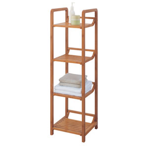 Bamboo Four-Tier Tower